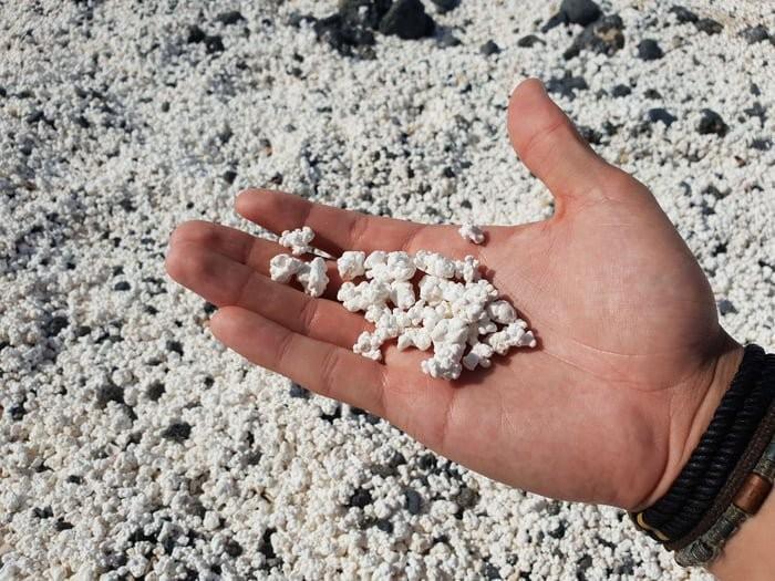 Kỳ lạ bãi biển chứa đầy bỏng ngô - ảnh 3