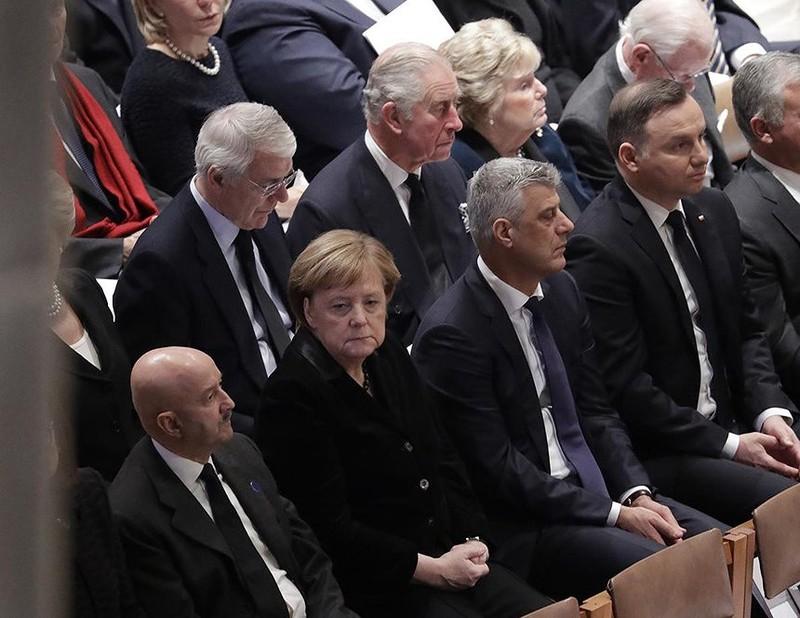 Những điểm nhấn tại đám tang cựu Tổng thống George H.W. Bush  - ảnh 5