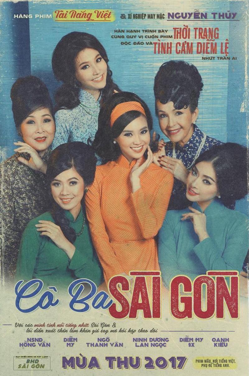 Ngô Thanh Vân làm phim về áo dài Sài Gòn trước 1975 - ảnh 1