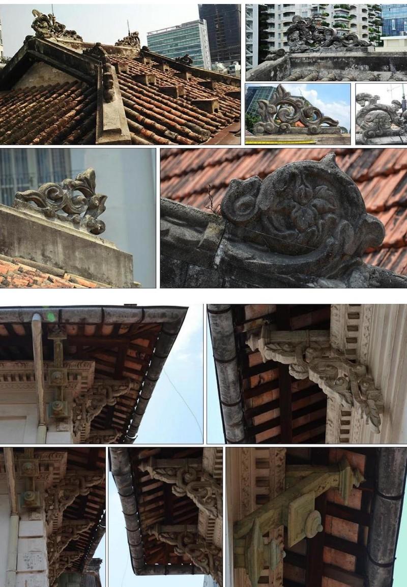 Cận cảnh biệt thự ba mặt tiền tại Sài Gòn sắp được trùng tu - ảnh 3