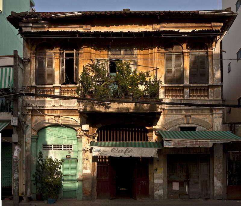 Chùm ảnh: Nhếch nhác biệt thự cổ Sài Gòn  - ảnh 4