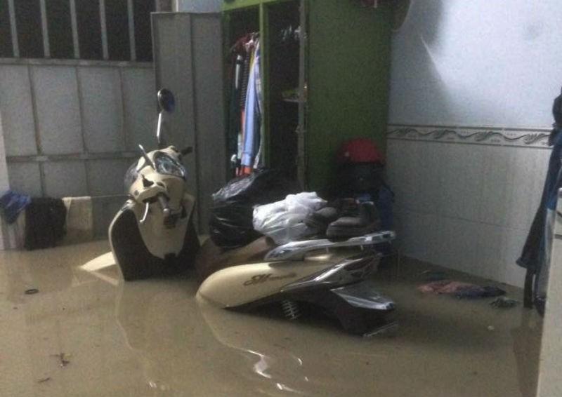 Đồng Nai: Mưa lớn ngập khủng khiếp, học sinh nghỉ học - ảnh 5
