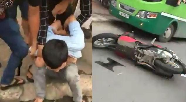 Truy đuổi tên trộm xe SH như phim hành động - ảnh 1