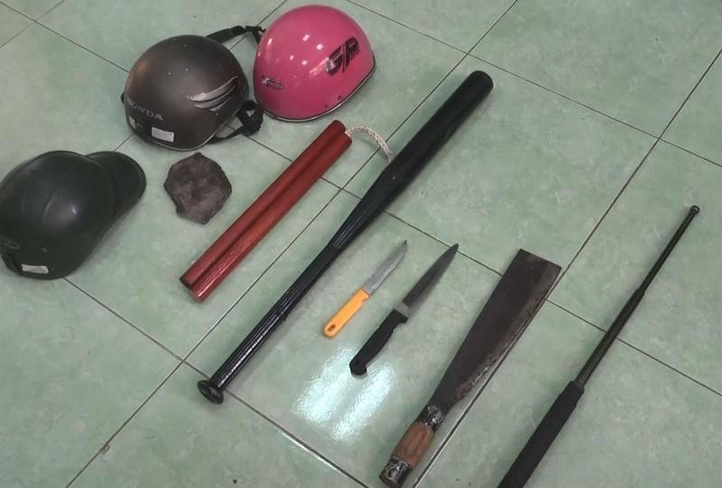 Hình sự nổ súng vây bắt 2 nhóm 'huyết chiến' ở Bình Dương - ảnh 1