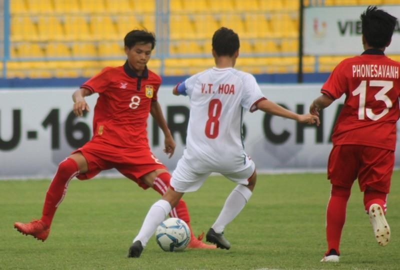 Đánh bại Lào trên chấm 11m, Việt Nam đoạt hạng ba - ảnh 1
