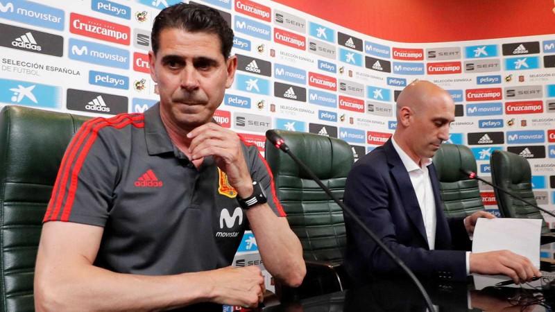 Fernando Hierro nói gì khi ngồi ghế nóng Lopetegui? - ảnh 1