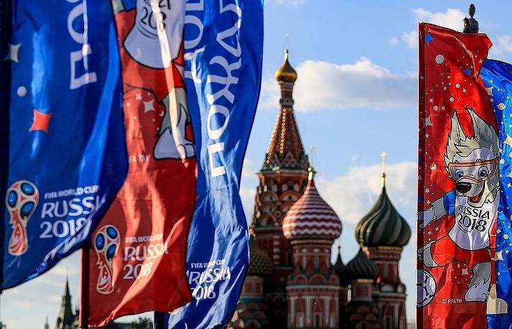 Sắc màu Moscow trước giờ khai mạc World Cup 2018 - ảnh 11