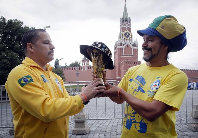 Sắc màu Moscow trước giờ khai mạc World Cup 2018 - ảnh 7