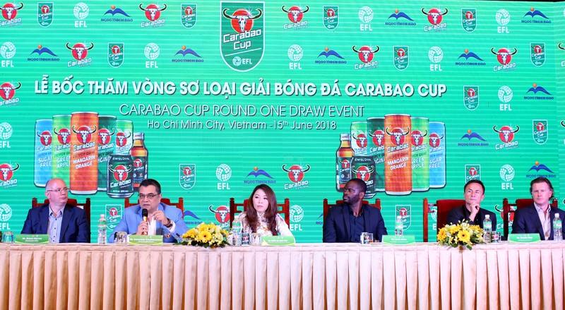 Trong tương lai Cúp Liên đoàn Anh sẽ thi đấu tại Việt Nam - ảnh 1