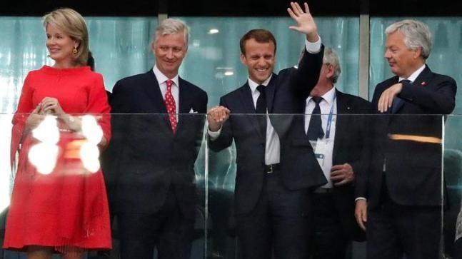 Ông Putin chúc mừng ông Macron và chia sẻ với vua Bỉ - ảnh 1