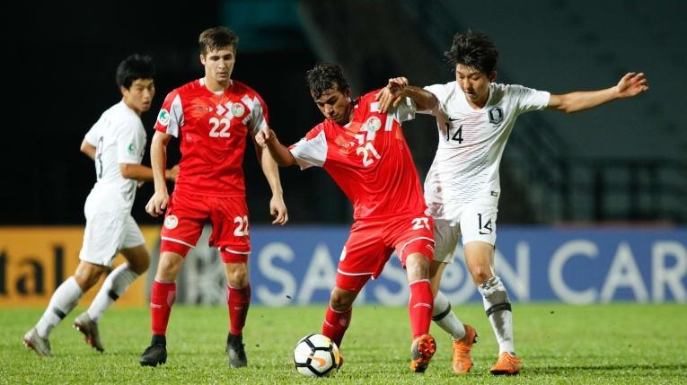 Tajikistan 'hóa' U23 Việt Nam, đánh bại Hàn Quốc vào chung kết - ảnh 3