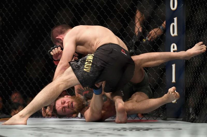 Khabib đánh bại McGregor, đánh luôn đội của đối thủ - ảnh 8