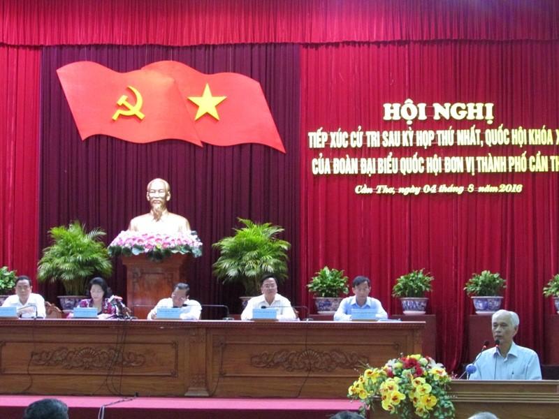 Bà Nguyễn Thị Kim Ngân tiếp xúc cử tri: Nóng chuyện ông Trịnh Xuân Thanh - ảnh 1
