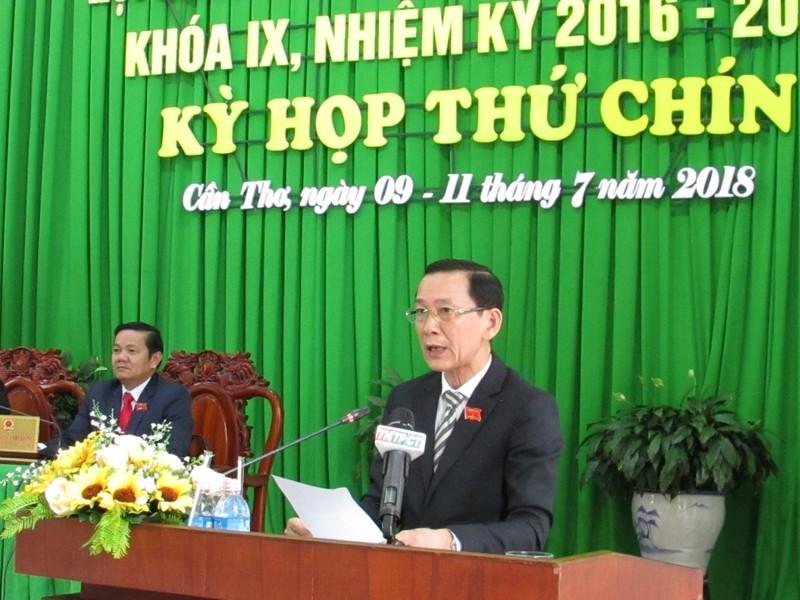 Chủ tịch HĐND TP Cần Thơ đề nghị quản lý chặt ngân sách - ảnh 2