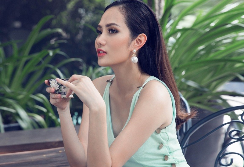 Hoa hậu Diệu Linh dự thi Nữ hoàng Du lịch Quốc tế 2018 - ảnh 3