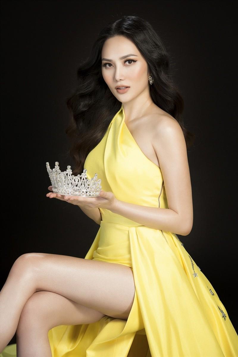 Hoa hậu Diệu Linh dự thi Nữ hoàng Du lịch Quốc tế 2018 - ảnh 2