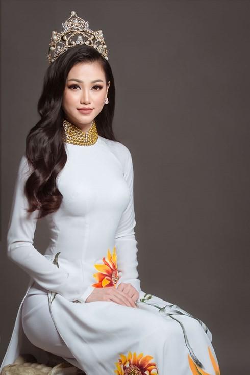 Nguyễn Phương Khánh đại diện Việt Nam thi Miss Earth 2018 - ảnh 1