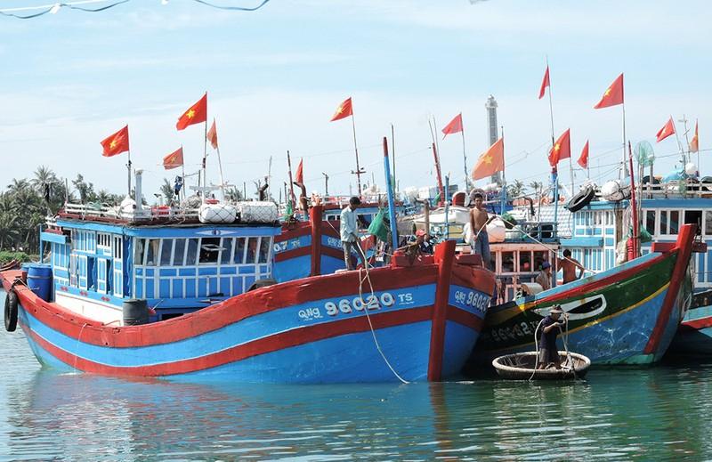 Bão số 10: Ba tàu cá Quãng Ngãi còn ở Hoàng Sa - ảnh 1