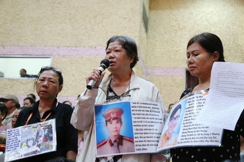 Bí thư Nguyễn Thiện Nhân cam kết xử lý sai phạm Thủ Thiêm - ảnh 5