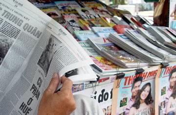 Rút đề xuất phạt 100 triệu khi báo chí đưa tin sai - ảnh 1