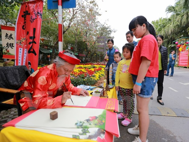 Thích thú với lễ hội hoa xuân lớn nhất miền Bắc - ảnh 12