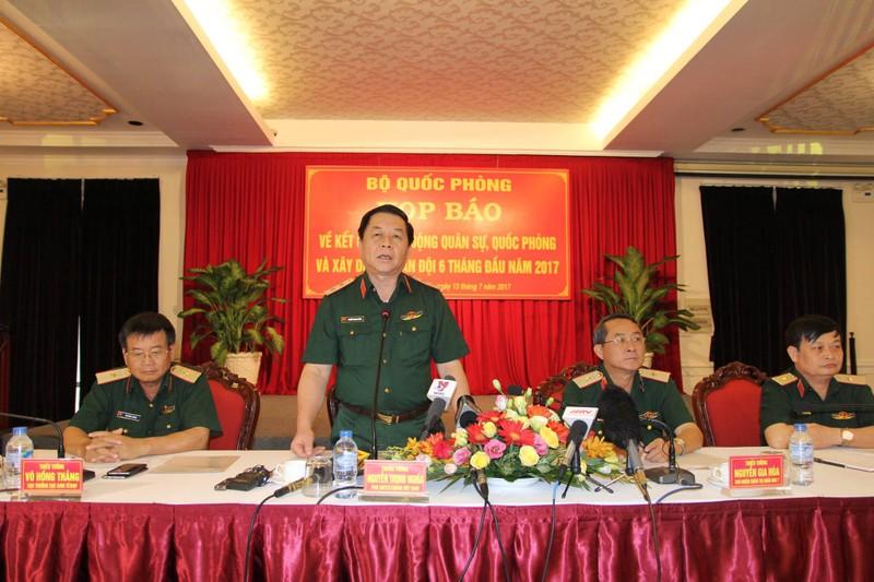 Bộ Quốc phòng họp báo: Nhiều thông tin về DN quân đội - ảnh 1