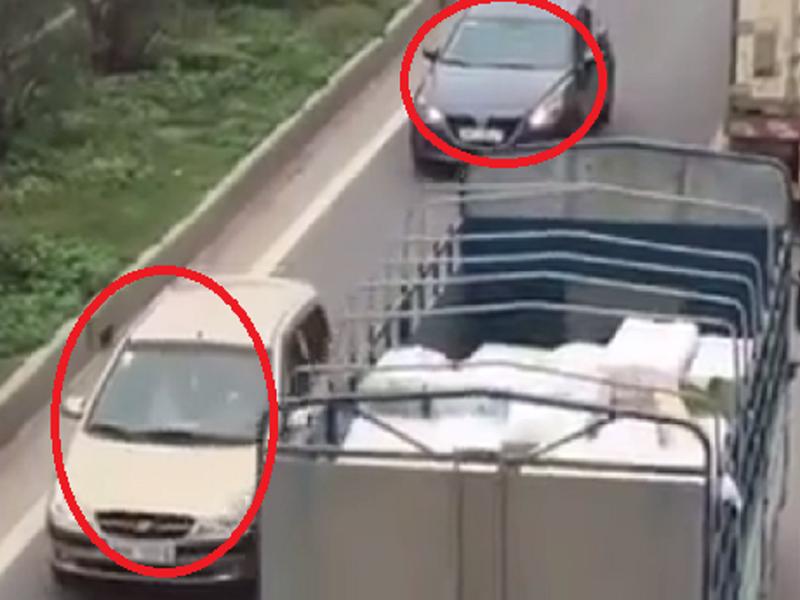 Tước bằng lái 3 tài xế chạy xe ngược chiều trên cao tốc - ảnh 1