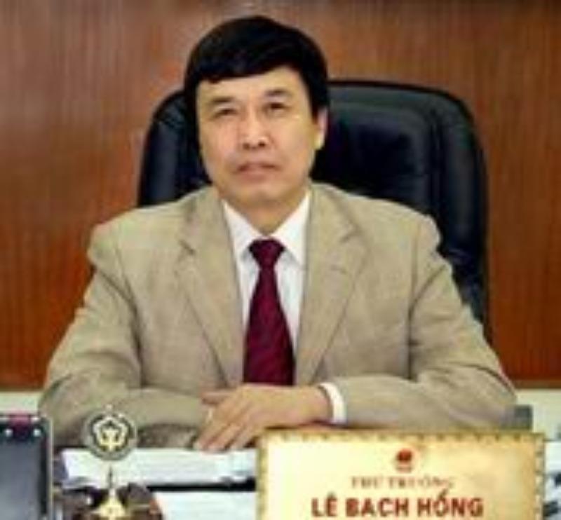 Nguyên Thứ trưởng Lê Bạch Hồng bị bắt giam - ảnh 1