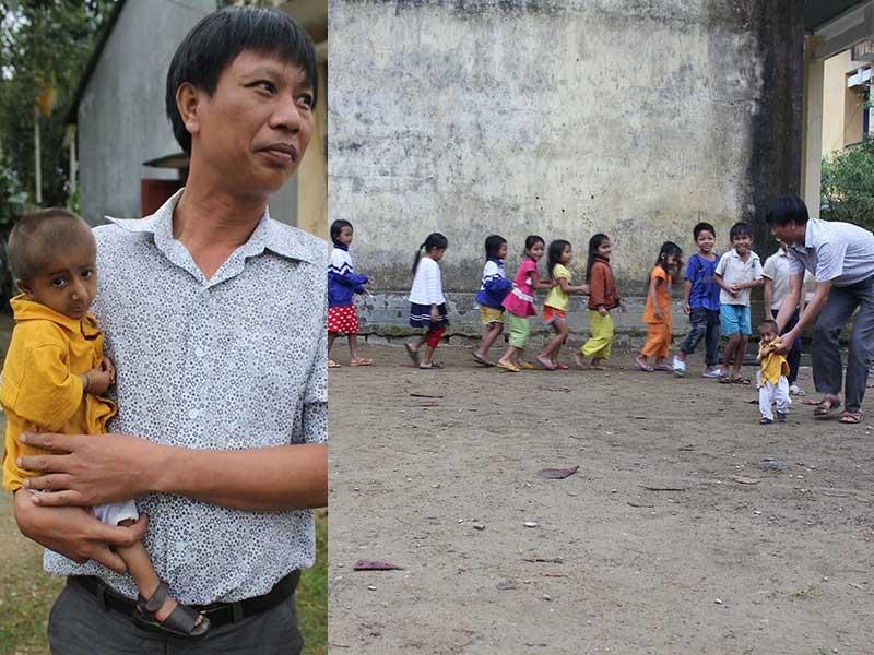 Quảng Ngãi: Thầy giáo 'liều'  đưa học sinh đi nội trú - ảnh 1