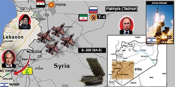 Israel: Đối trọng mới của Nga ở Syria - ảnh 2
