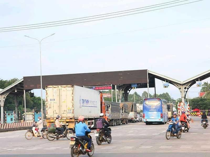 Trạm thu phí đường tránh Biên Hòa 'hạ nhiệt' - ảnh 1