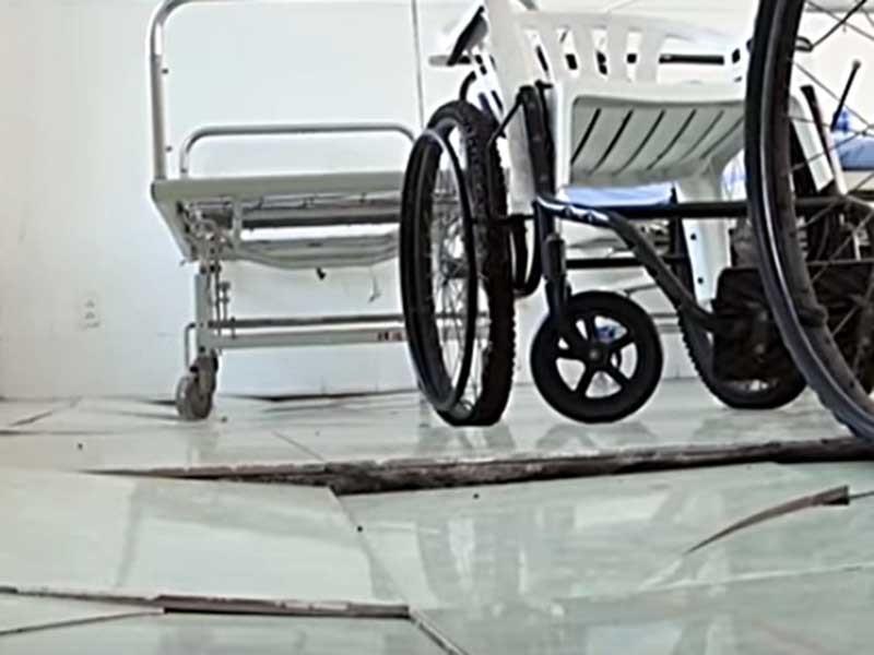Phòng khám đa khoa Mũi Né lún sụp nguy hiểm - ảnh 2