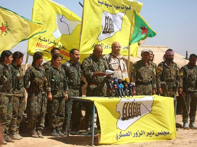 Syria chạy đua giành đất với đồng minh của Mỹ - ảnh 1