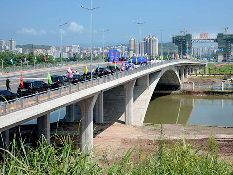 Quảng Ninh khánh thành cầu Bắc Luân II nối VN với TQ - ảnh 1