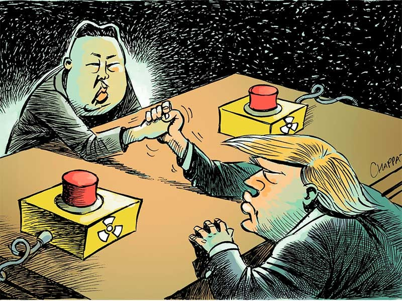 Nên đàm phán trực tiếp với Triều Tiên! - ảnh 1