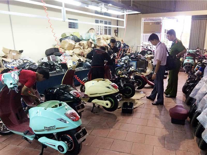 Đau đầu với xe máy Trung Quốc 'copy' - ảnh 1