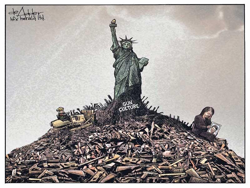 Dân Mỹ mê súng! - ảnh 1
