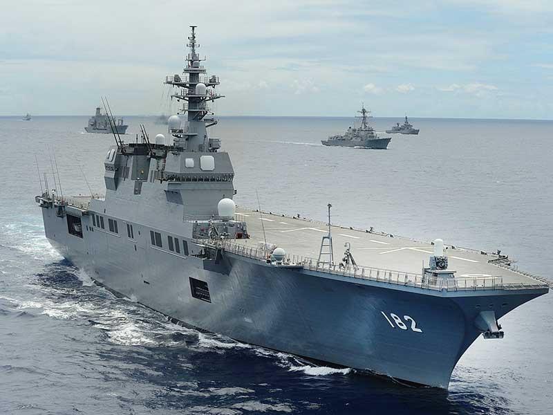 Mỹ-Nhật-Hàn rầm rộ tập trận tàu sân bay - ảnh 1