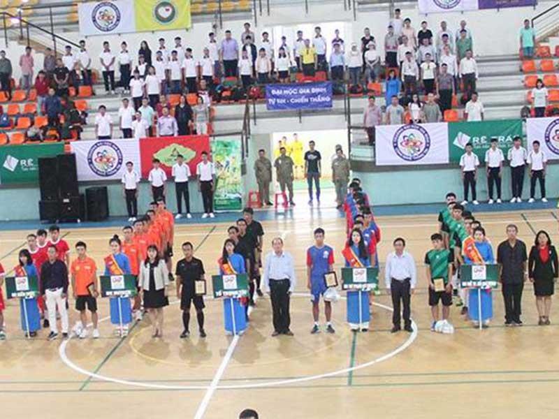 Khai mạc giải futsal sinh viên TP.HCM 2017 - ảnh 1