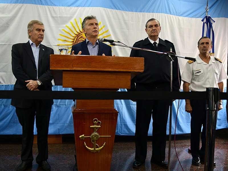 Thêm hé lộ về tàu ngầm Argentina mất tích - ảnh 1