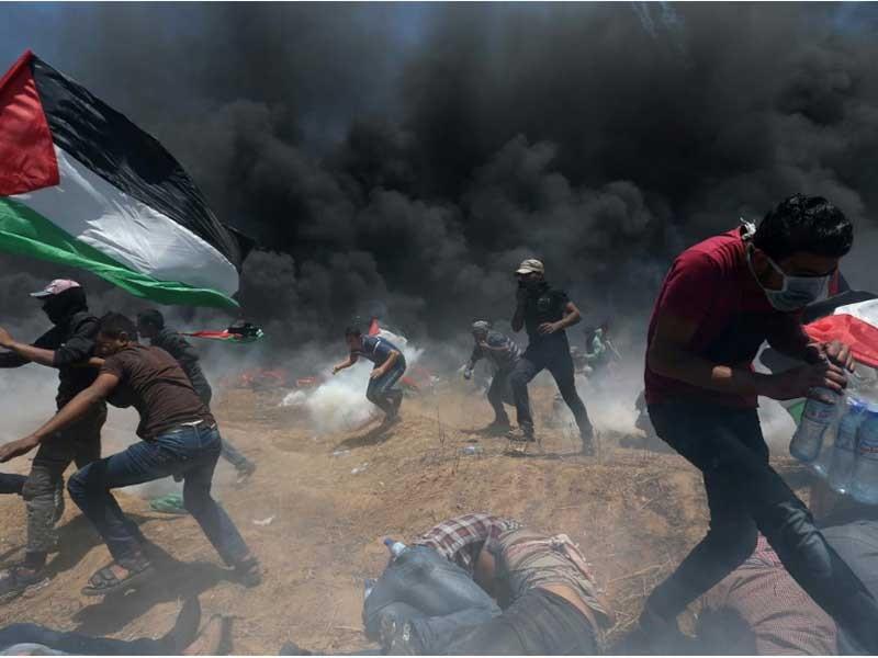 Máu đổ ở thành Jerusalem: 58 người chết, 2.700 người bị thương - ảnh 1