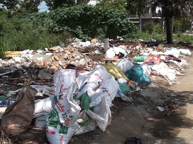 Cư dân bức xúc vì nạn đổ rác trộm - ảnh 1