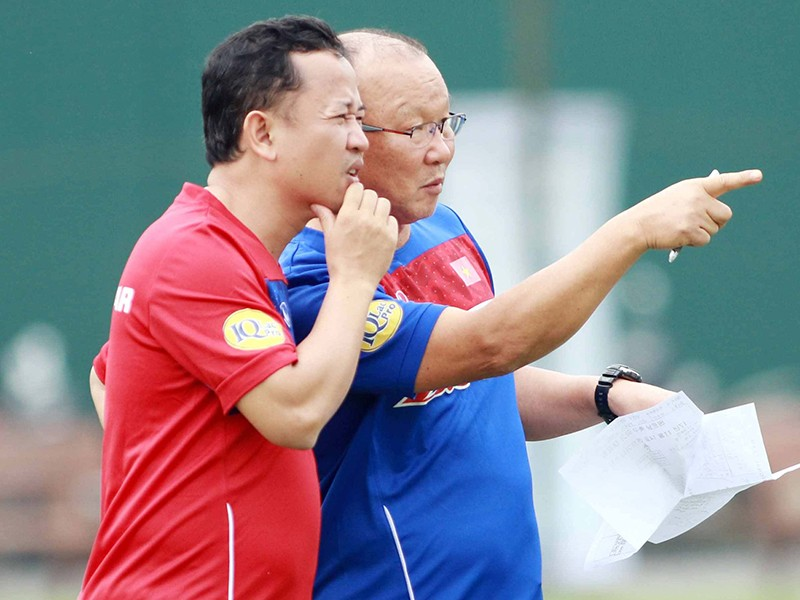 HLV Park Hang-seo chịu áp lực lớn sau thành tích của U-23 VN  - ảnh 1