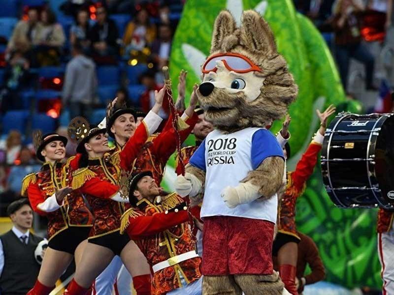Khai mạc World Cup và món 'đặc sản' Nga - ảnh 1