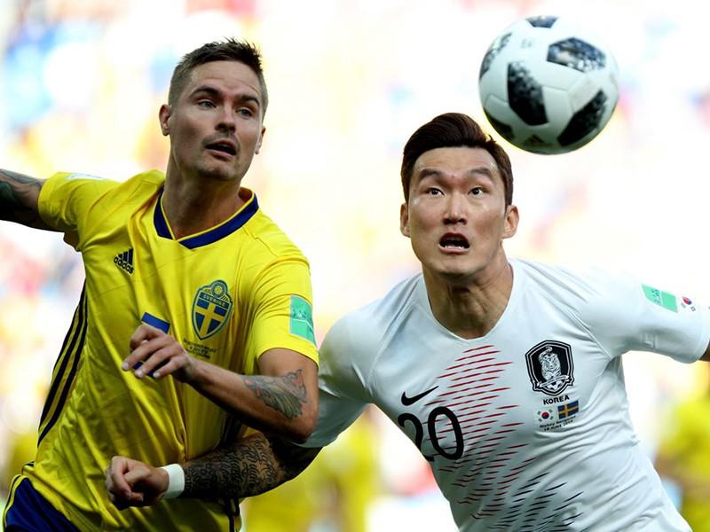 Thụy Điển - Hàn Quốc 1-0: Chia sẻ với Hàn Quốc - ảnh 1