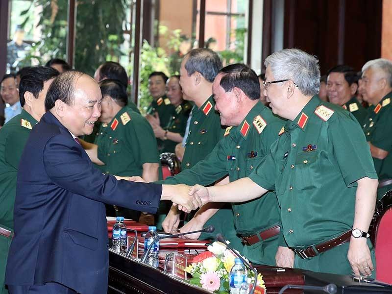 Thủ tướng dự Hội nghị Quân chính toàn quân - ảnh 1