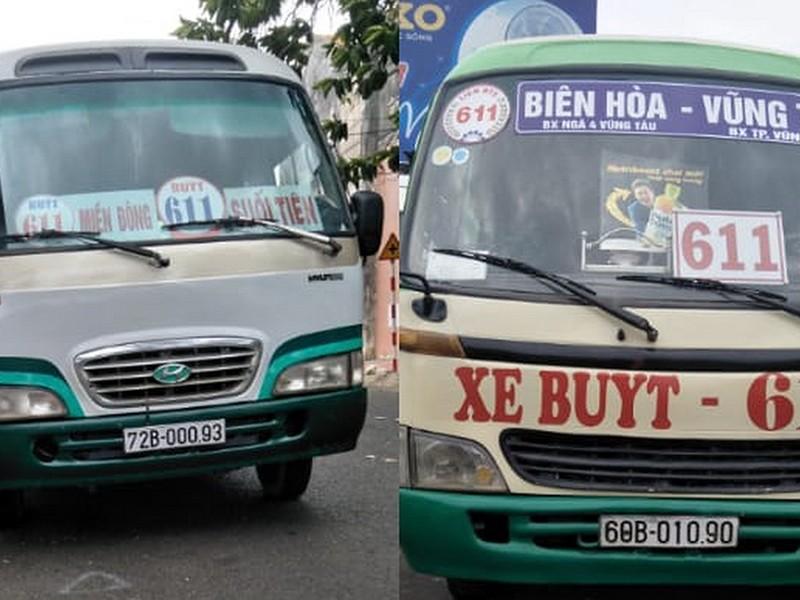 Xe buýt giả lộng hành trên quốc lộ 51 - ảnh 1