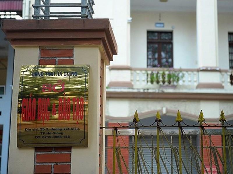 Nghi vấn đường dây gian lận thi ở Hà Giang - ảnh 2