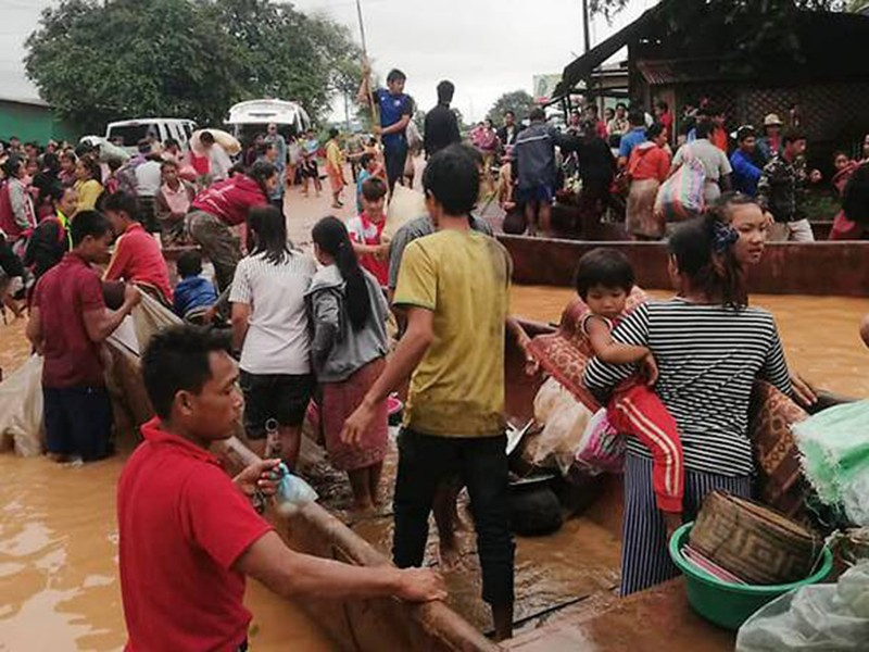 Nhận định ban đầu lý do vỡ đập thủy điện ở Lào - ảnh 1