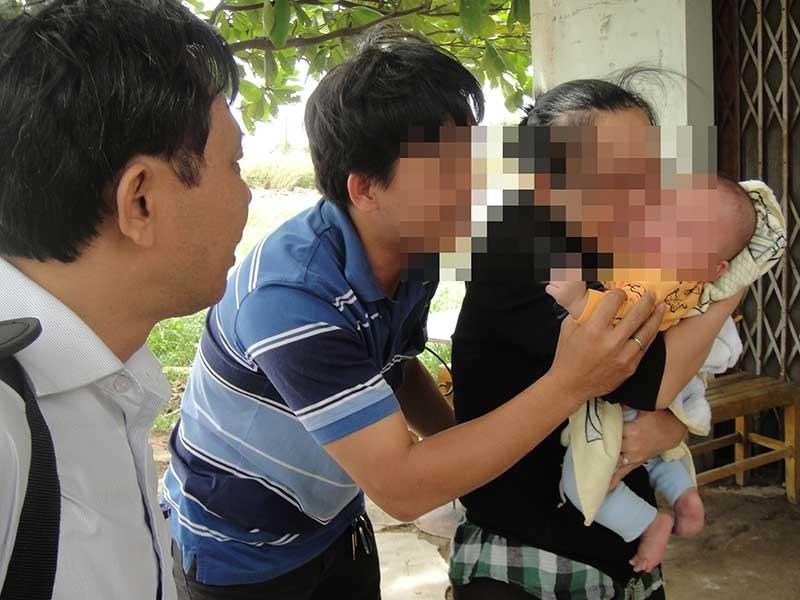 Giăng lưới 'cất vó' nhóm bắt cóc trẻ 3 tháng tuổi - ảnh 1